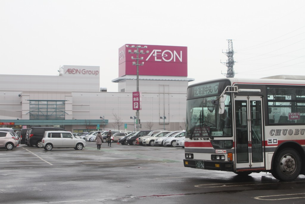 95年式中ロマブルリに2台遭遇、そして新型エルガ「札幌200か4230」に初乗車!(2016年2月20日中央バス乗り回し~その2~)