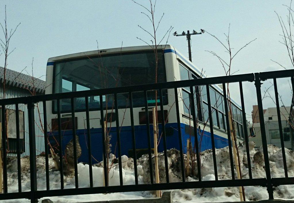 年明け廃車4台目!札幌営業所の札幌200か1789が廃車に…
