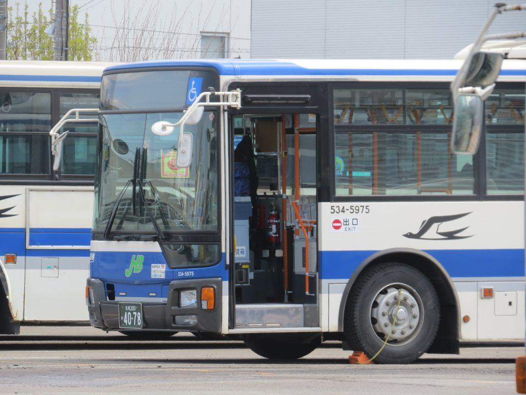 札幌200か620(521-1903)はほぼ琴似営業所転属とみて妥当?(2016年4月20日~26日車両動向 Vol.4)