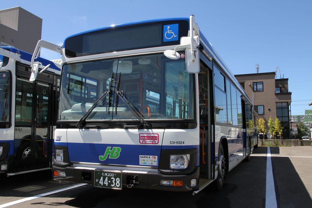 【ジェイ・アール北海道バス】遂に新型エルガデビュー!!(7月9日~8月10日新車・廃車の動き)