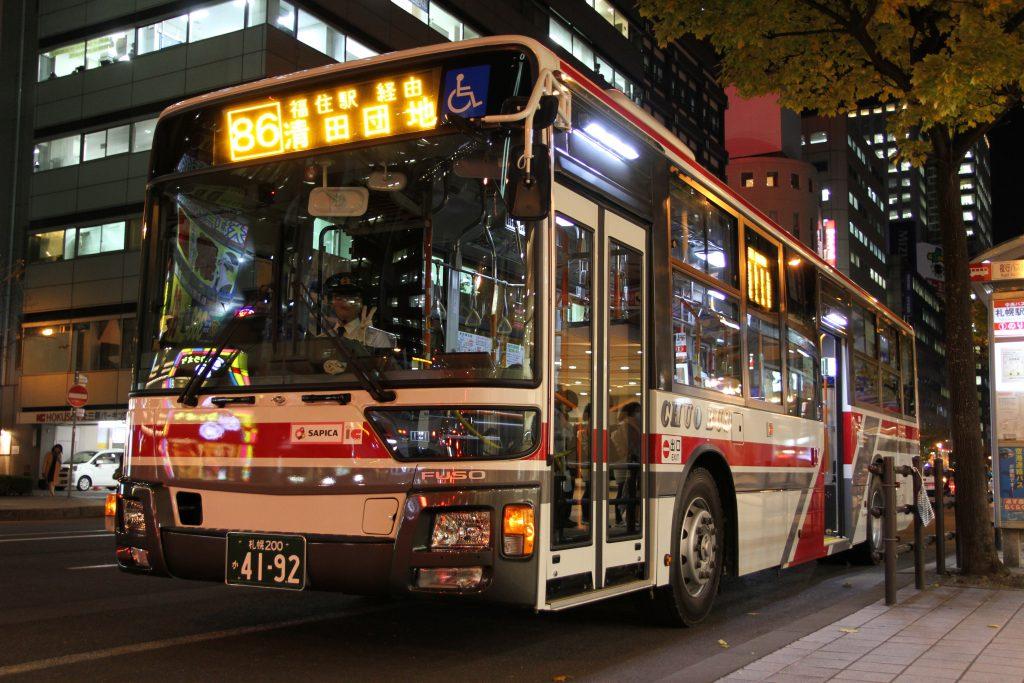 【北海道中央バス】札幌200か4192