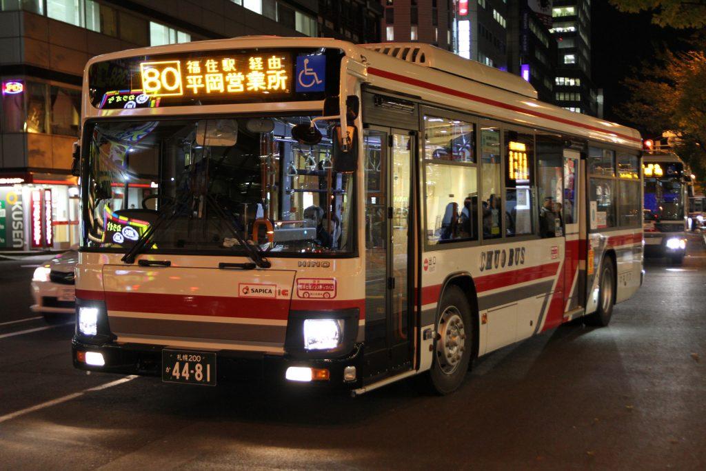 【北海道中央バス】札幌200か4481