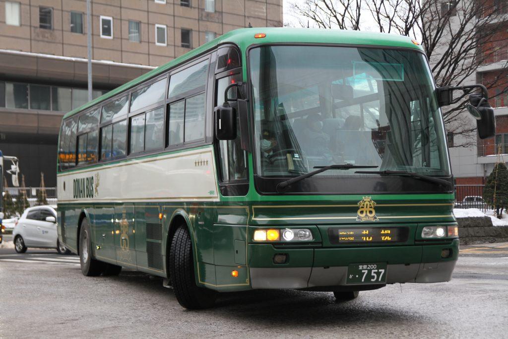 【道南バス】室蘭200か757(618)