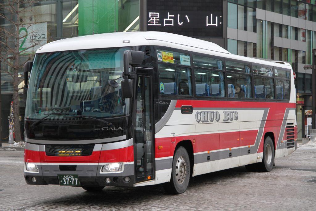 【北海道中央バス】札幌200か3777