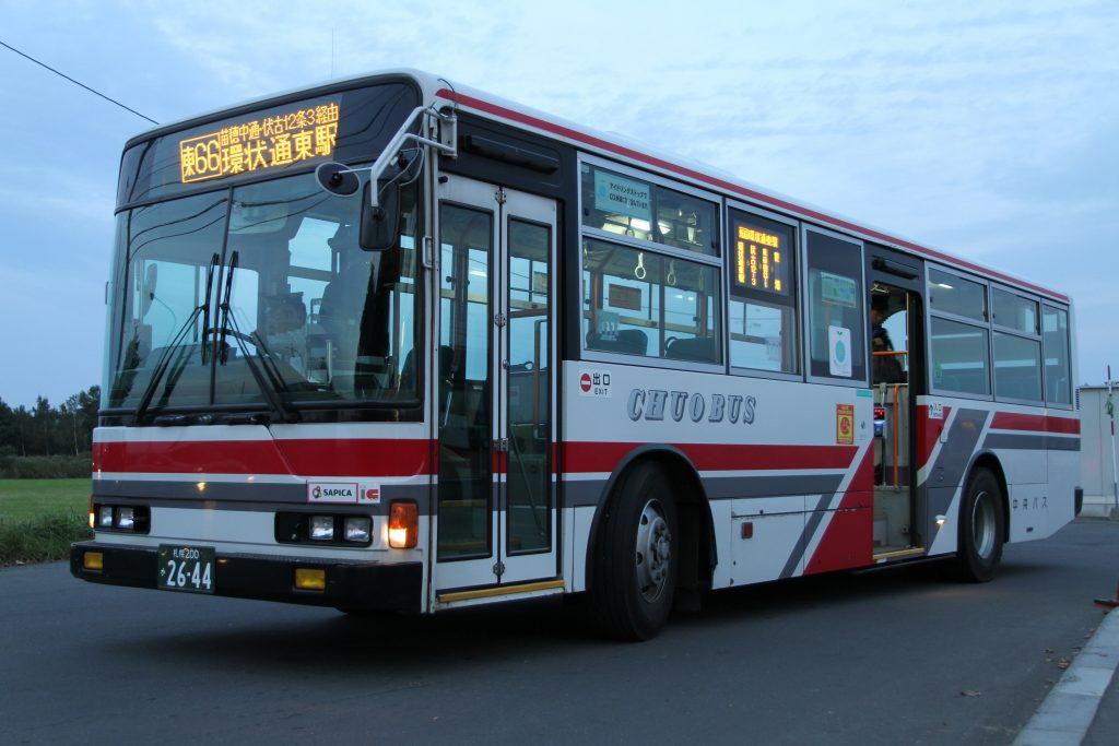 【北海道中央バス】札幌200か2644