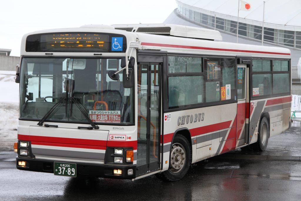 【北海道中央バス】札幌200か3789