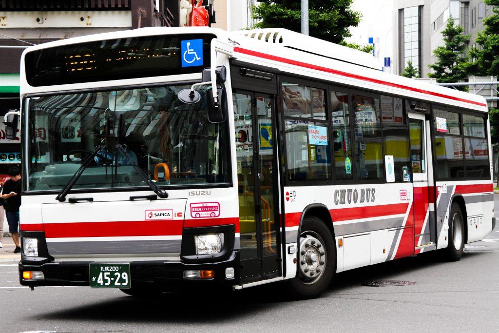 【北海道中央バス】札幌200か4529