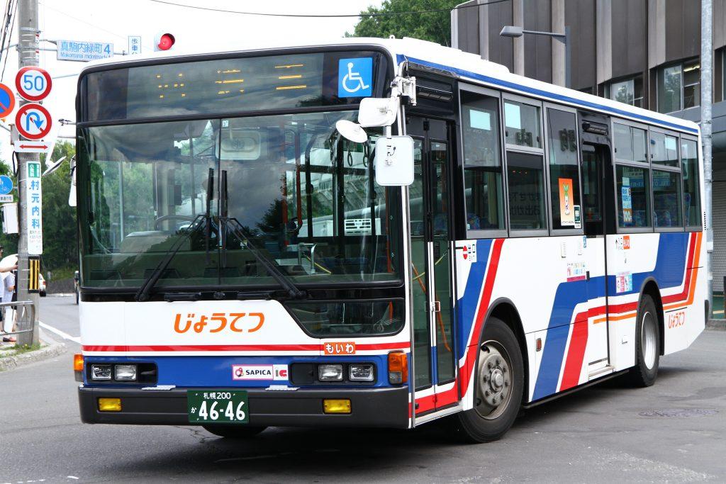 【じょうてつバス】札幌200か4646