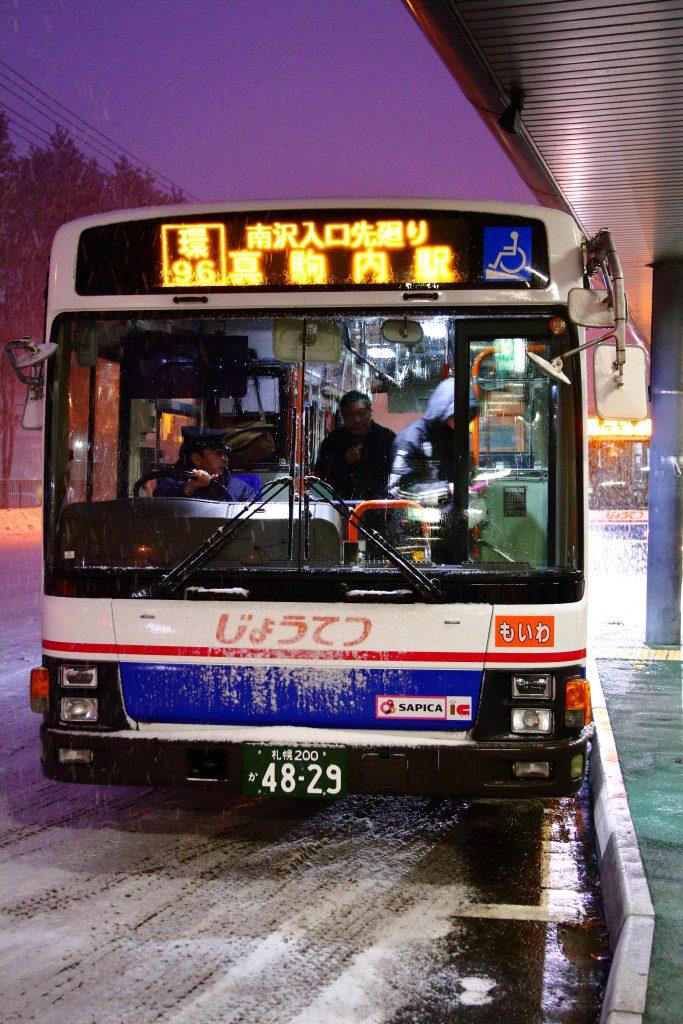 【じょうてつバス】PJ-LVの移籍車が登場!