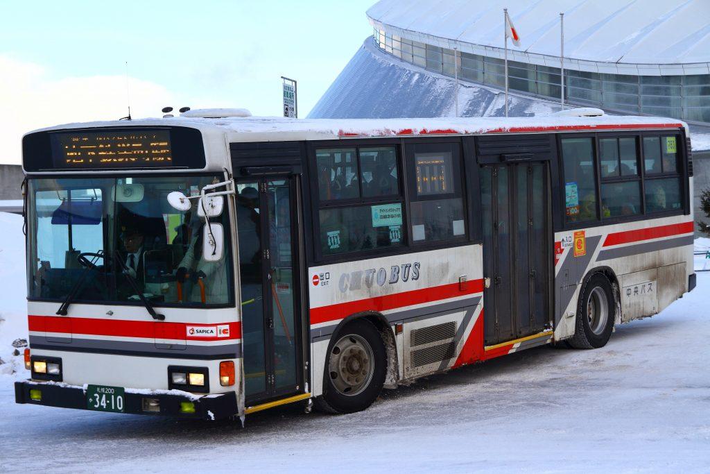 【北海道中央バス】札幌200か3410