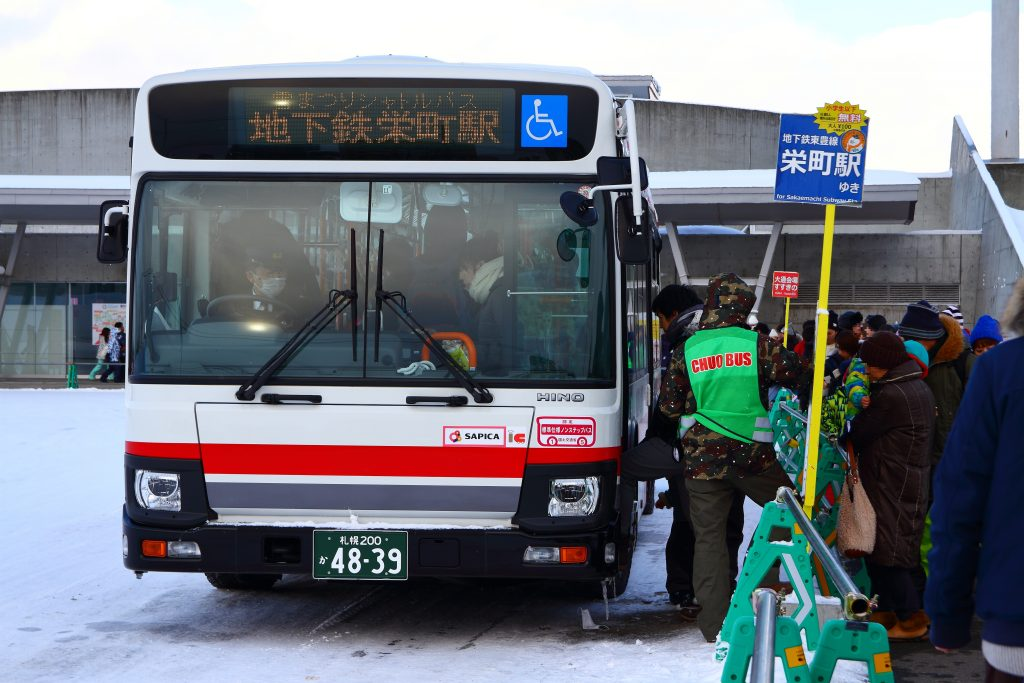 雪まつりシャトルバス~2018~