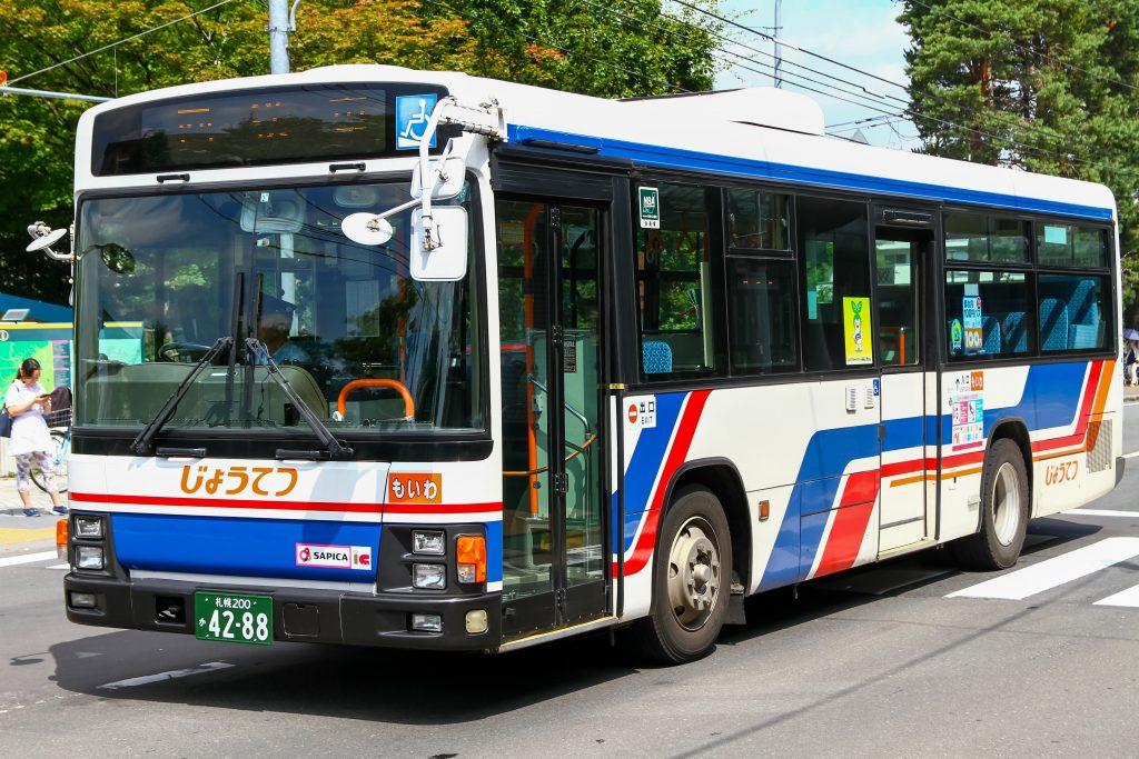 【じょうてつバス】札幌200か4288