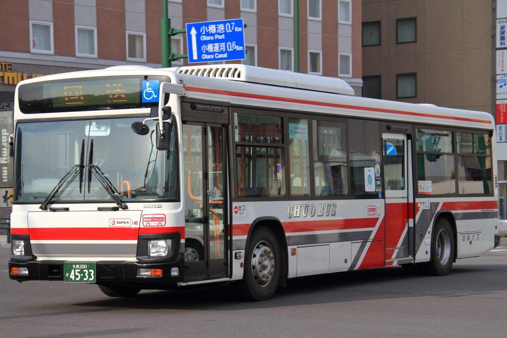 【北海道中央バス】札幌200か4533