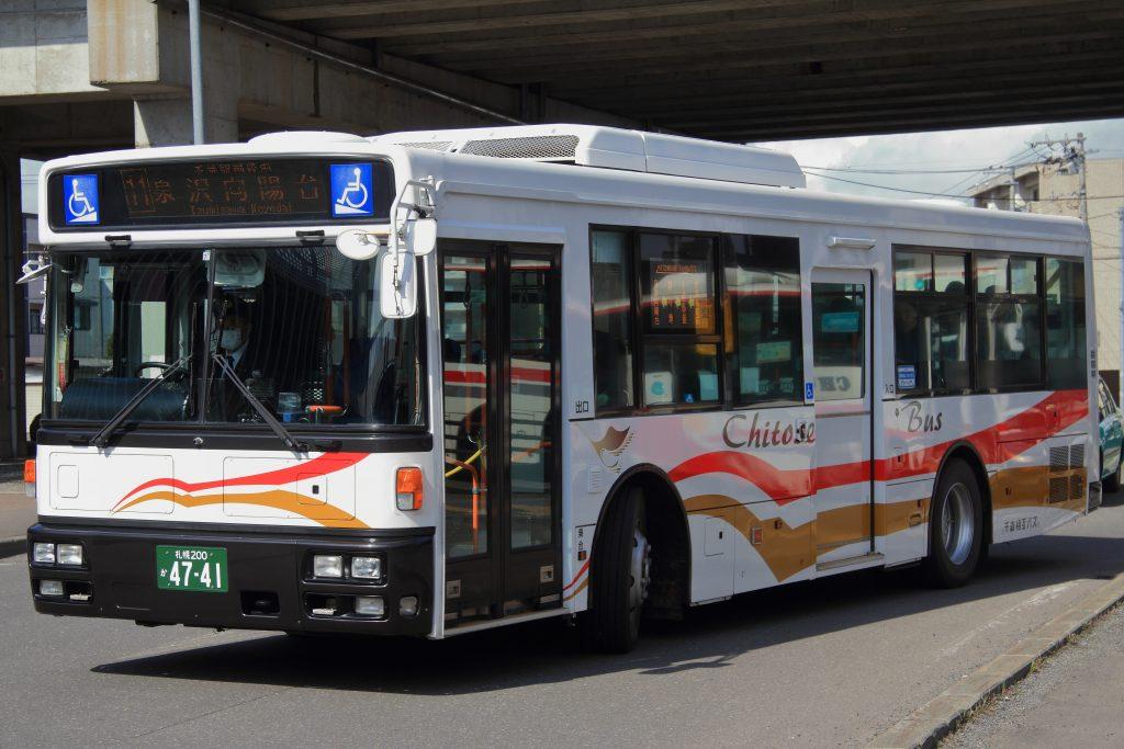 【千歳相互観光バス】札幌200か4741