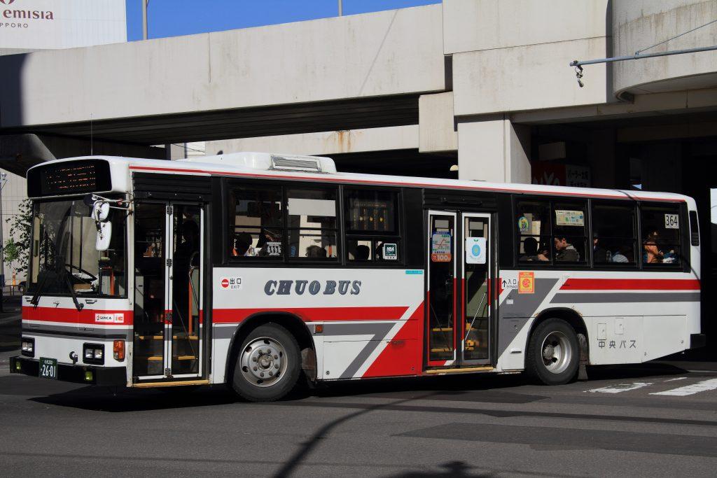 【北海道中央バス】札幌200か2601