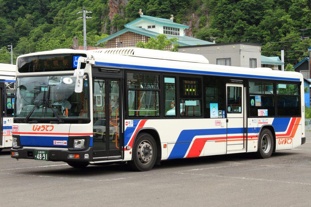 【じょうてつバス】札幌200か4891