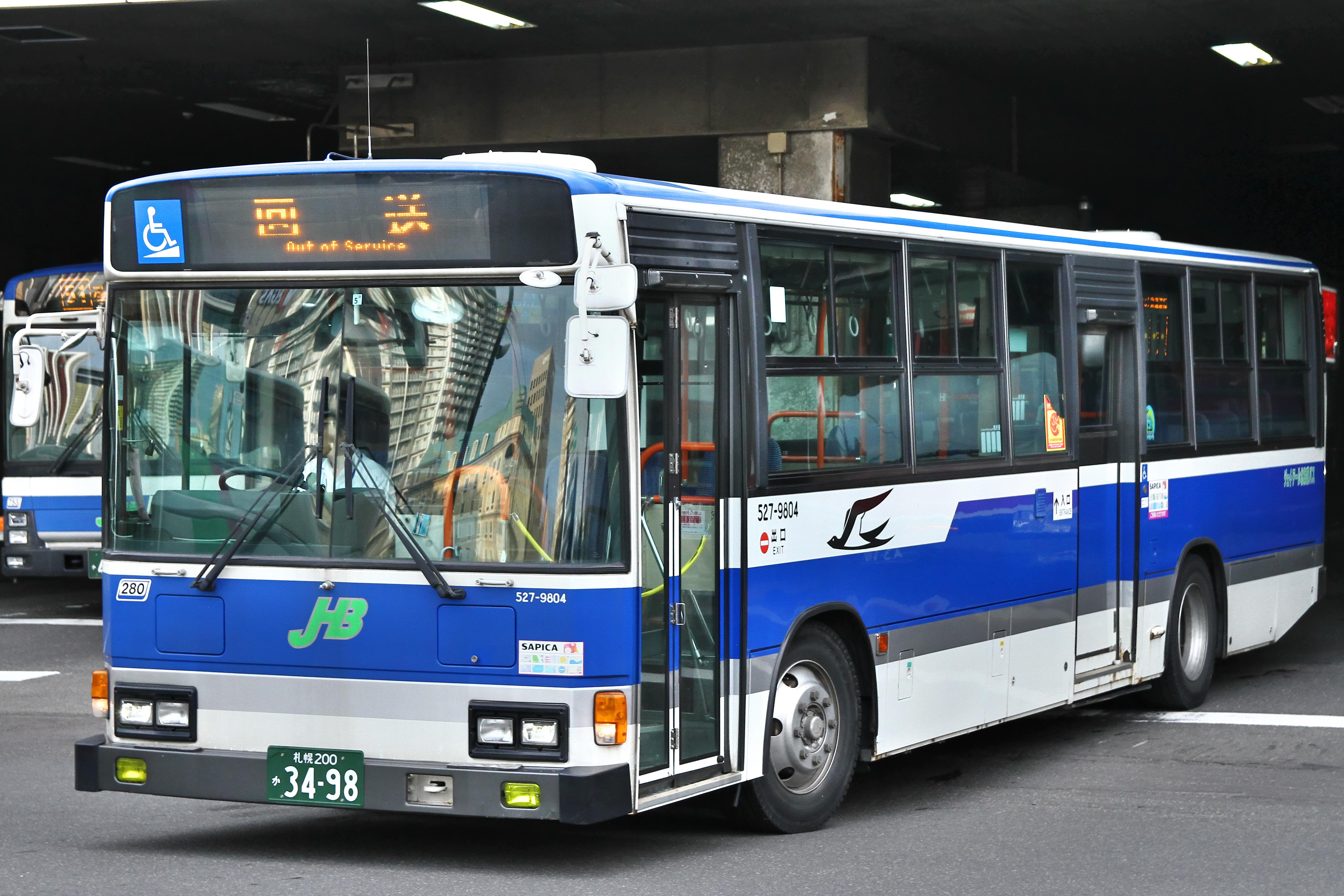 ジェイ・アール北海道バス】札幌...