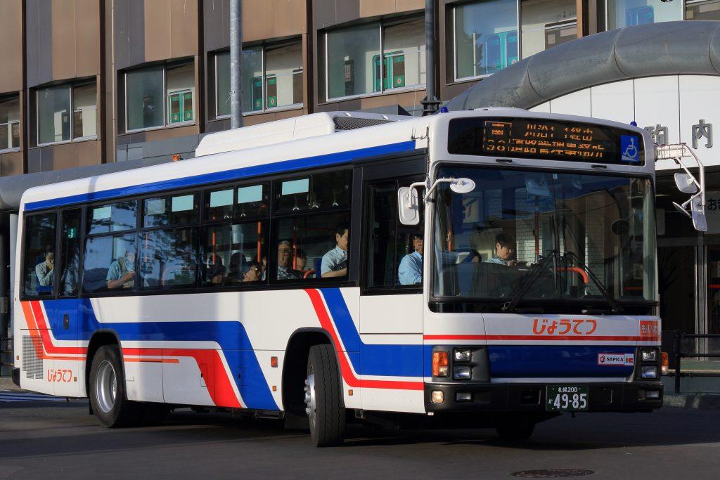 【じょうてつバス】札幌200か4985