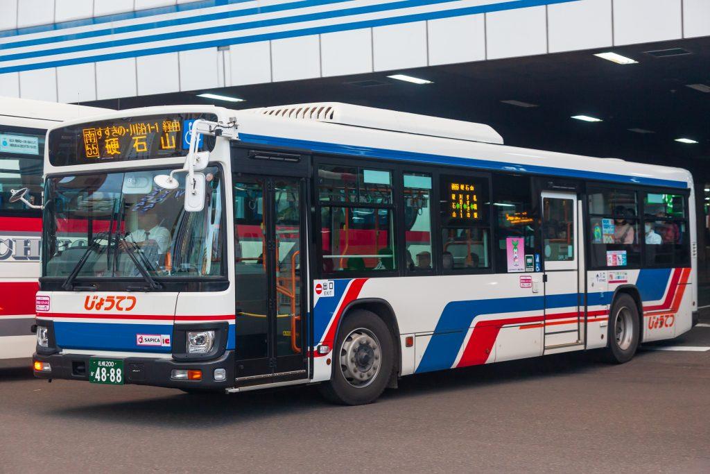 【じょうてつバス】札幌200か4888