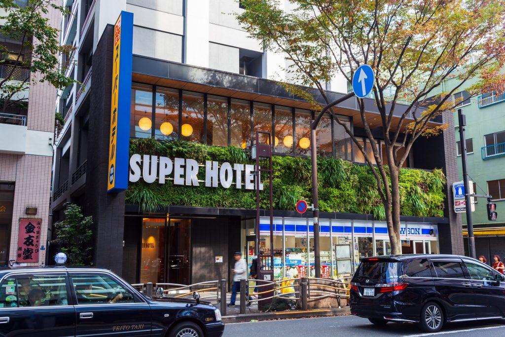 スーパーホテル錦糸町駅前に泊まってみた(2018秋の東京遠征-1)