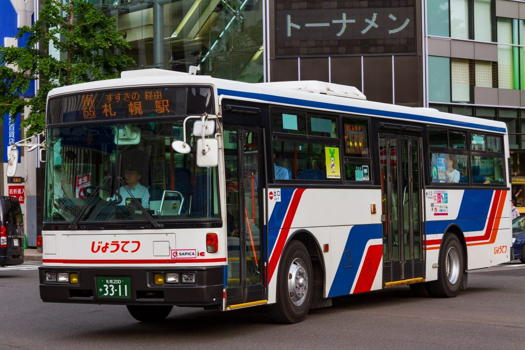 【じょうてつバス】札幌200か3311