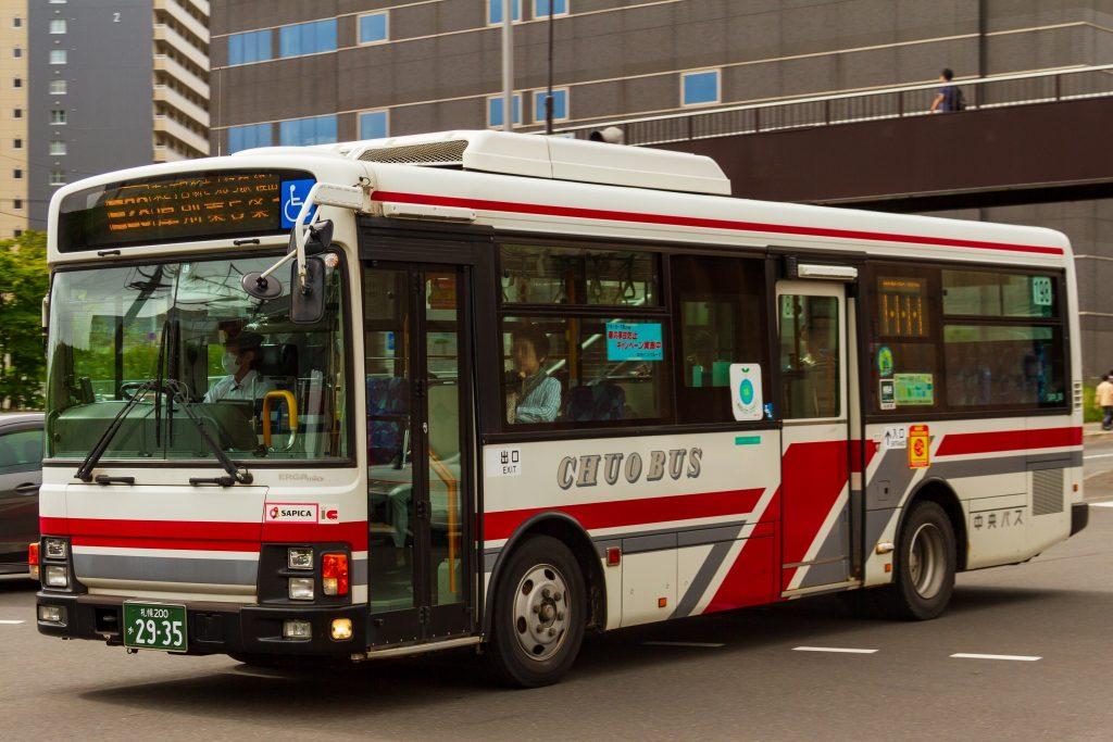 【北海道中央バス】札幌200か2935