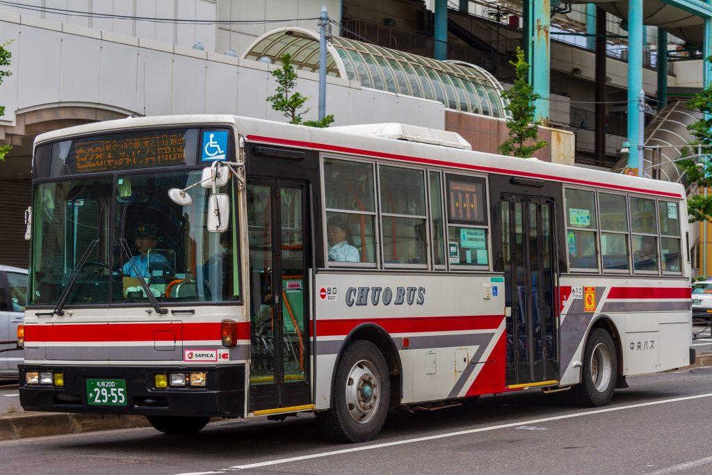 【北海道中央バス】札幌200か2955