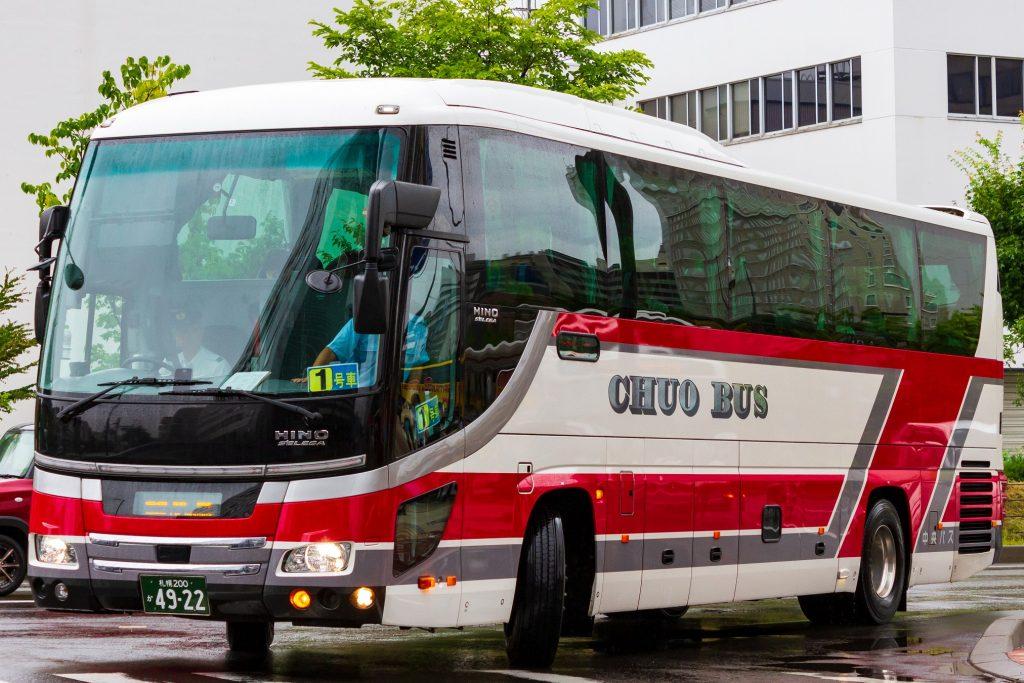 【北海道中央バス】札幌200か4922