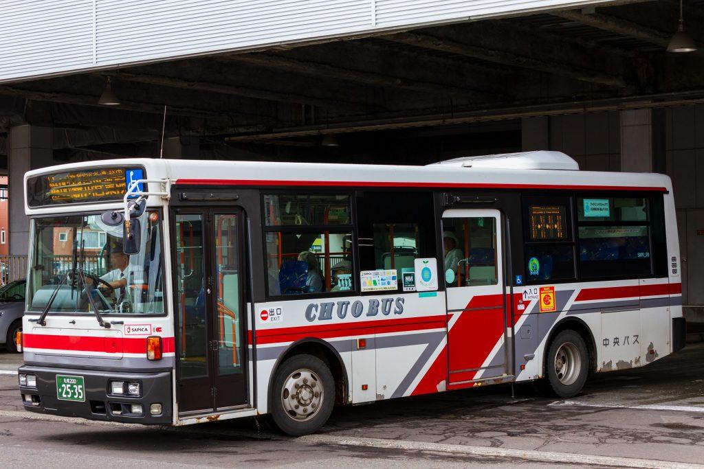 【北海道中央バス】札幌200か2535