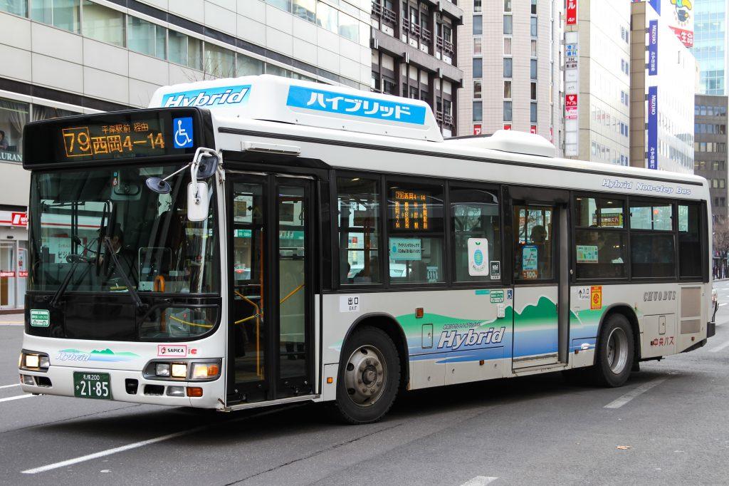 【北海道中央バス】札幌200か2185