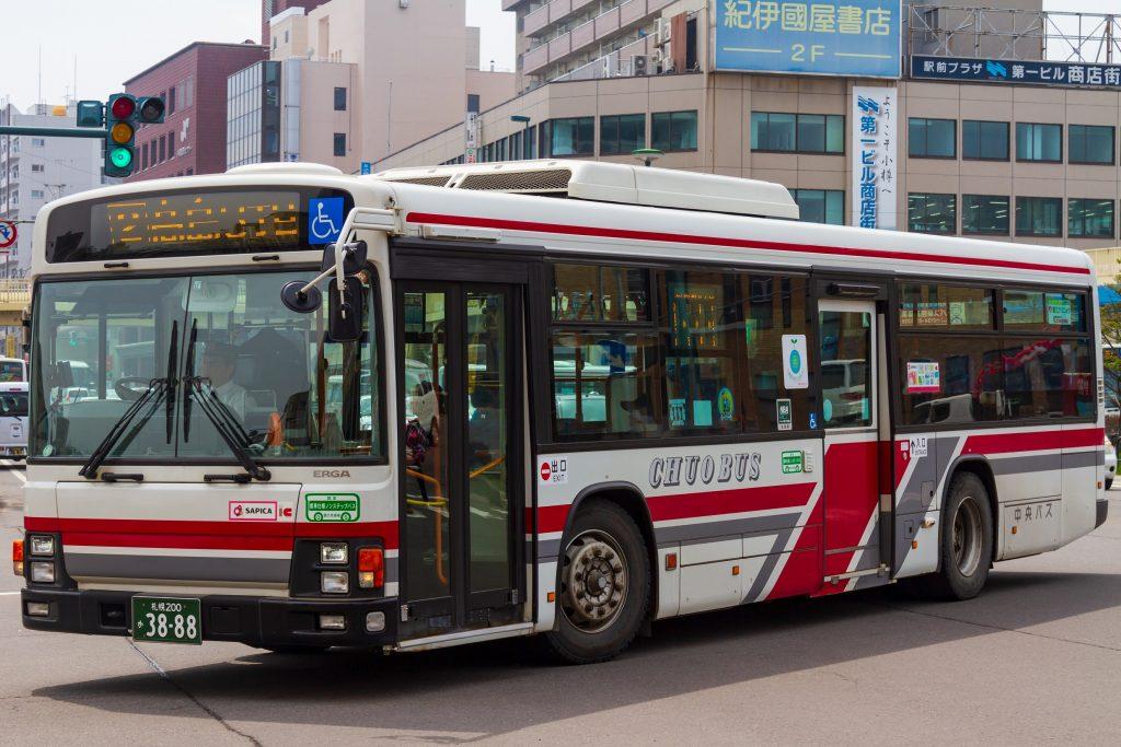 【北海道中央バス】札幌200か3888