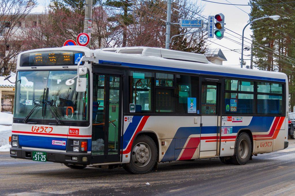 【じょうてつバス】札幌200か5125