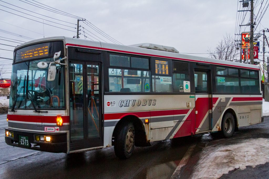 【北海道中央バス】札幌200か2373