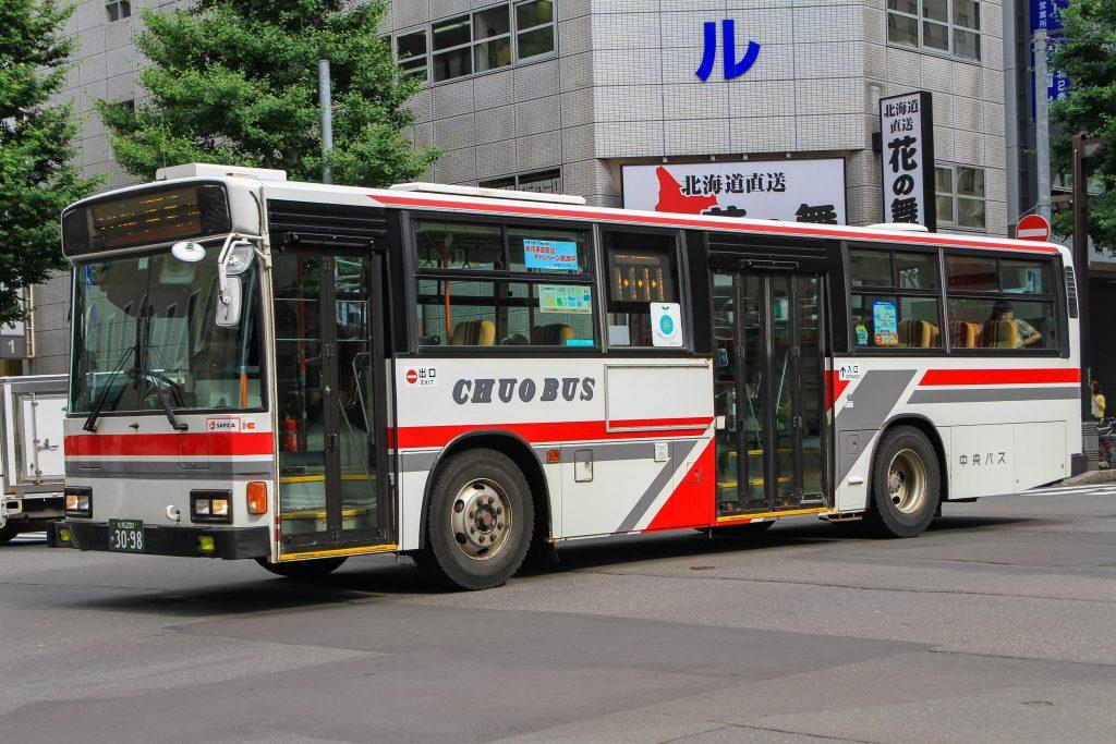 【北海道中央バス】札幌200か3098