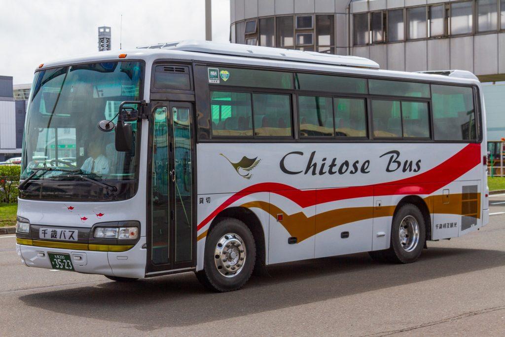【千歳相互観光バス】札幌200か3523