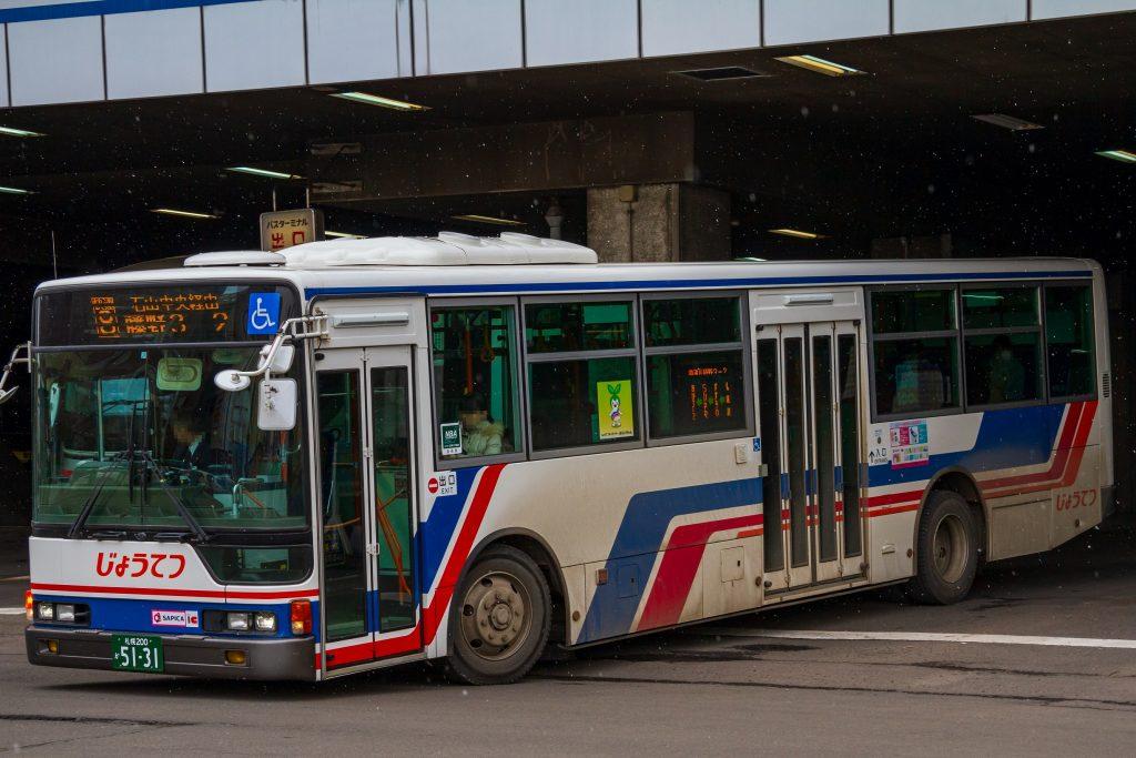 【じょうてつバス】札幌200か5131