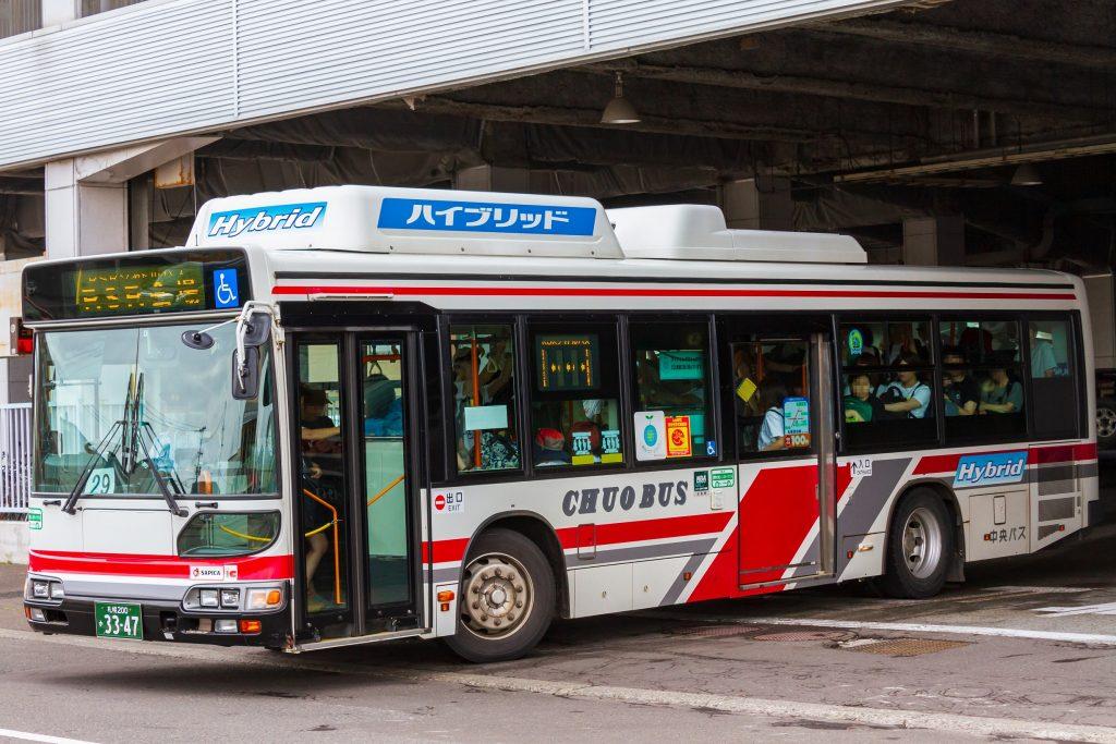 【北海道中央バス】札幌200か3347