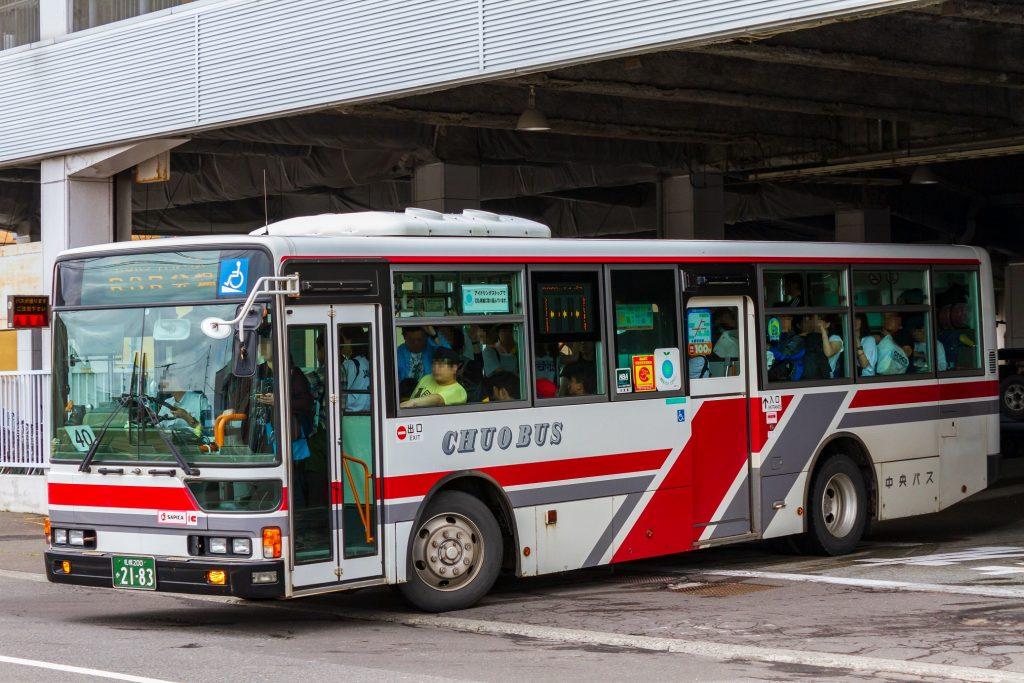 【北海道中央バス】札幌200か2183