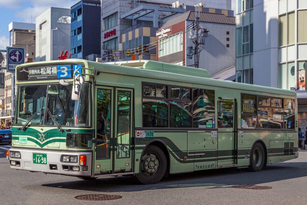 【京都市交通局】京都200か1698
