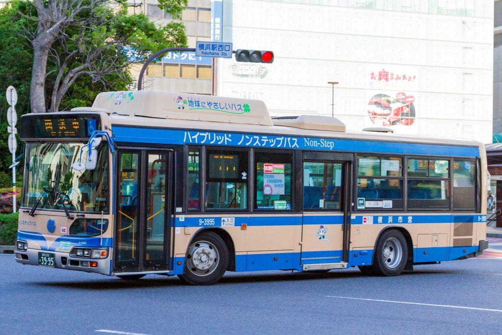 【横浜市交通局】横浜230あ3995(9-3995)