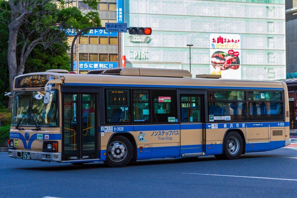 【横浜市交通局】横浜230あ3928(8-3928)