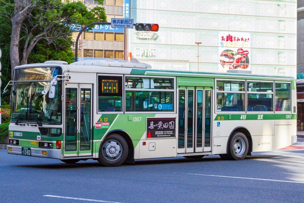 【相鉄バス】横浜200か1303(1357)