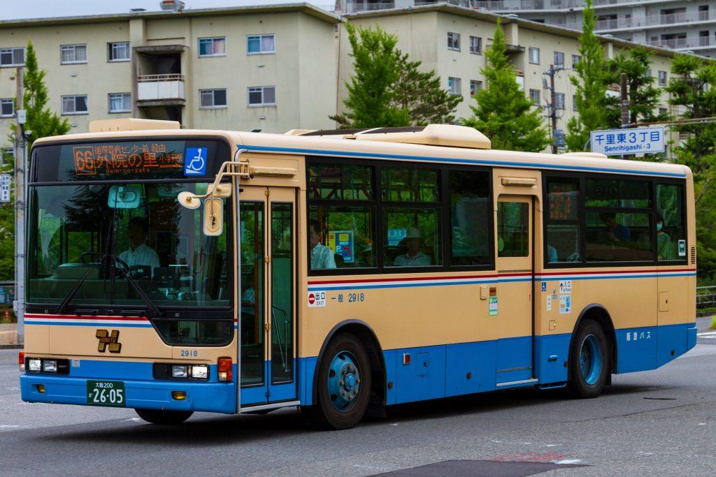 【阪急バス】大阪200か2605(2918)