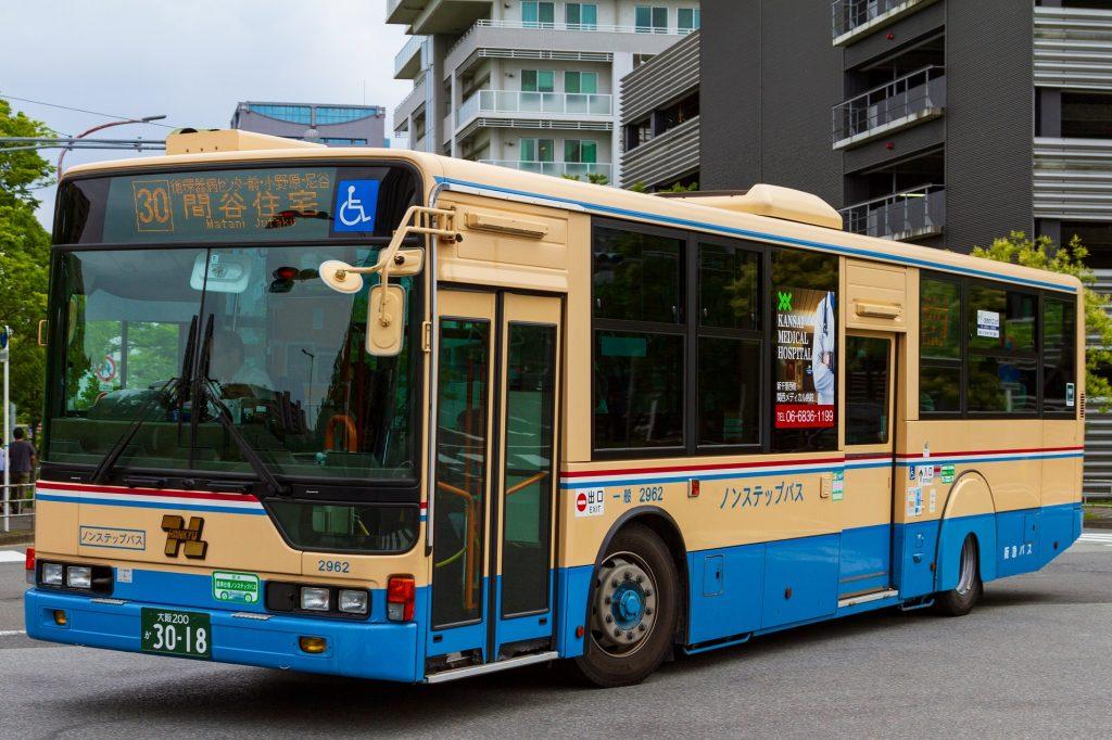 【阪急バス】大阪200か3018(2962)
